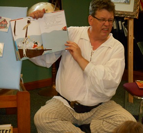 Mr Kent Performs Pirate Storytime